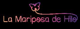 La Mariposa de Hilo Logo